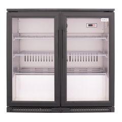 SnoMaster SD-220 200L Black Under Counter Beverage Cooler