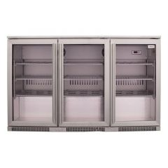 SnoMaster SD-300SS 300L Stainless Steel Under Counter Beverage Cooler
