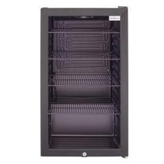 SnoMaster SM-100 98L Black Under Counter Beverage Cooler