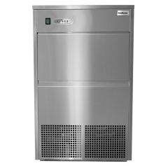 SnoMaster SM-50 50KG Stainless Steel Plumbed In Bullet Ice Machine
