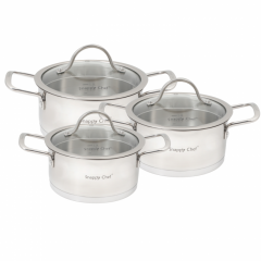Snappy Chef SSCS006 6 Piece Cookware Set