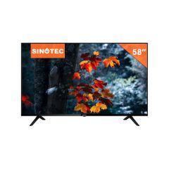 """Sinotec STL-58U20AT 58"""" UHD Android LED TV"""