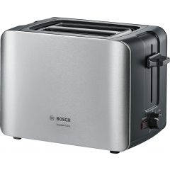 Bosch TAT6A913 2 Slice Stainless Steel Comfort Line Compact Toaster