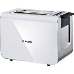 Bosch TAT8611 2 Slice White Styline Compact Toaster