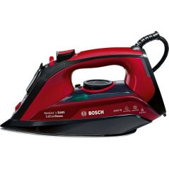 Bosch TDA503011P 3000W Red Sensixx'x Rosso Edition Steam Iron