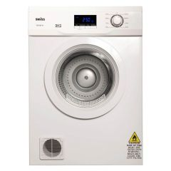 Swiss Appliances TDEV85W 8.5KG White Tumble Dryer