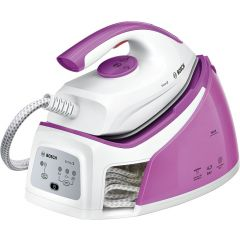 Bosch TDS2110 2400W White & Pink Steam Station Iron