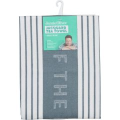 Jamie Oliver 556882 Storm Grey Tea Towel