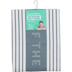 Jamie Oliver 556882 Storm Grey Tea Towel