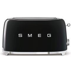 Smeg TSF02BLSA 4 Slice Retro Black Toaster