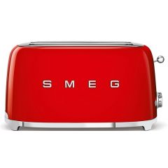 Smeg TSF02RDSA 4 Slice Retro Red Toaster