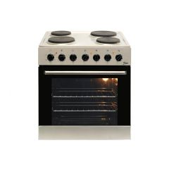 Univa U336SS 600mm Stainless Steel Under Counter Oven & 4 Plate Solid Hob Combo