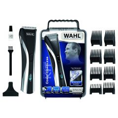 Wahl WC9697-1016 Black Rechargeable LCD Cord/Cordless Hair & Beard Trimmer Set