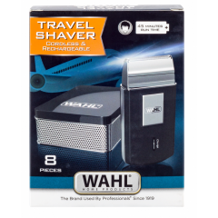 Wahl WT3615-1016 Silver Rechargeable Travel Shaver