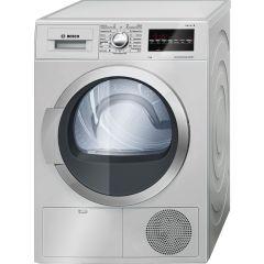 Bosch WTG86400ZA 9KG Inox Condenser Tumble Dryer