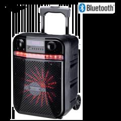 JVC XS-N319PB Black Bluetooth Trolley Speaker