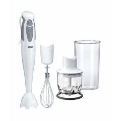 Braun ZA0X22111017 550W White MQ325 Omelette Multiquick 3 Hand Blender