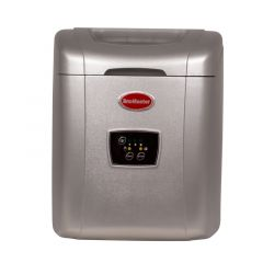 SnoMaster ZB-14G 12KG Silver Portable Ice Maker